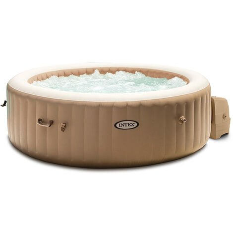 Spa gonflable Intex PureSpa Sahara 4 places - Beige