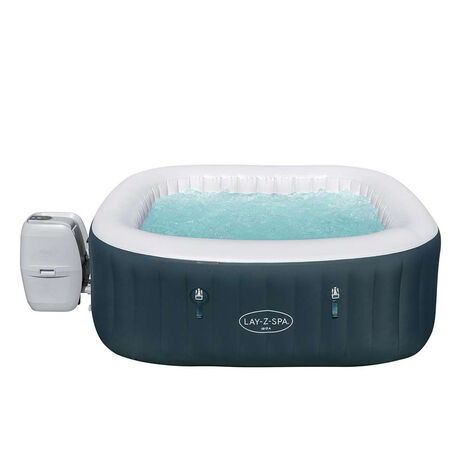 Spa gonflable Lay-Z Ibiza AirJet 6 places Bestway square 60015 180x66cm