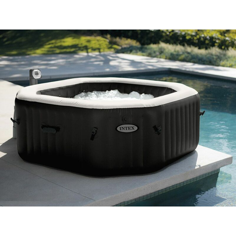Spa Gonflable Purespa Octogonal Bulles Jets 6 Places Intex