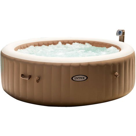 Spa Gonflable Purespa Rond Bulles 6 Places Intex