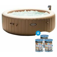 Spa gonflable PureSpa rond Bulles 6 places - Intex