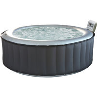 Spa gonflable rond SILVER CLOUD - 6 places