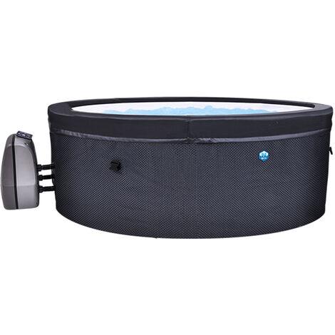 Spa portable semi-rigide Vita rond Bulles 4 places - Netspa