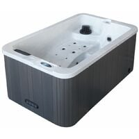 Spa rigide 3 places - 184 x 110 x 72 cm LUISIANE