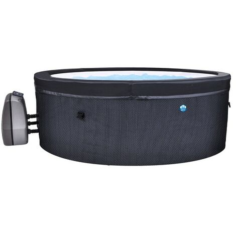 Spa semi rigide Netspa Vita - 4 places - Ø156 cm - Avec bloc moteur Filtration/Chauffage/Massage