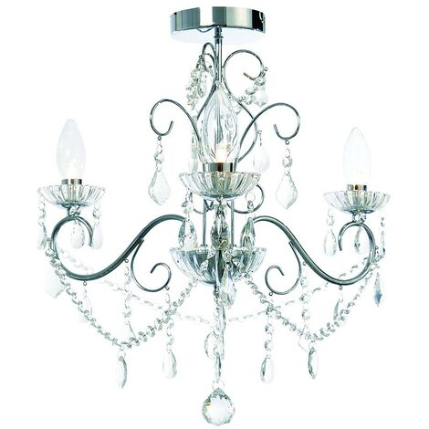 Spa Vela 3 Light Chandelier