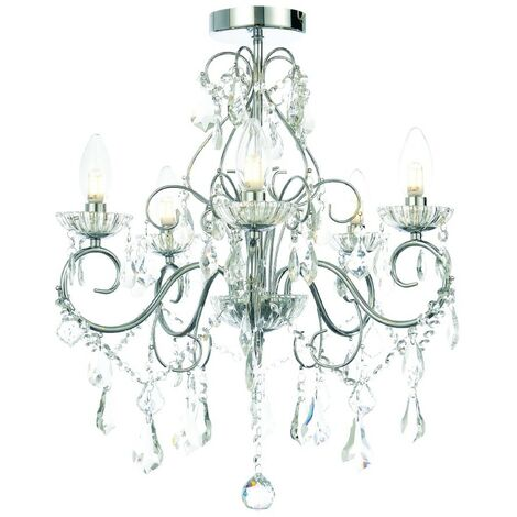 Spa Vela 5 Light Chandelier