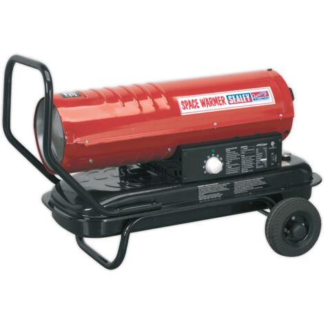 Space Warmer?? Paraffin/Kerosene/Diesel Heater 70,000Btu/hr with Wheels