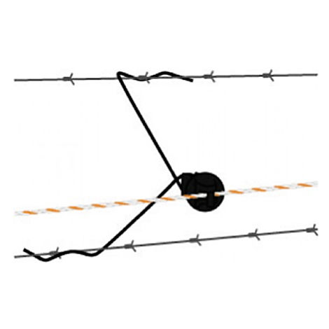 Spacer for wire 30 cm to electrify existing or worn fences - 25 pieces