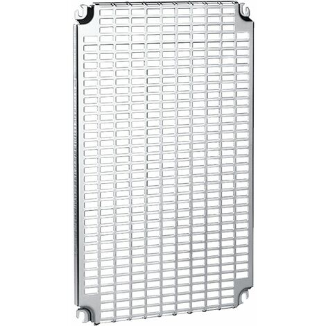 Spacial - ch ssis perforé Telequick - acier - pour coffret H=600xL=500mm - NSYMR65