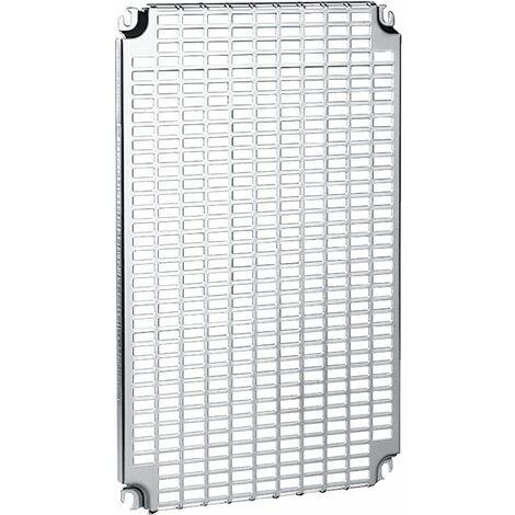 Spacial - ch ssis perforé Telequick - acier - pour coffret H=800xL=600mm - NSYMR86