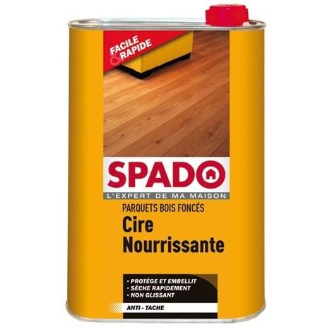 SPADO - Cire liquide parquet - chêne foncé - 1 L