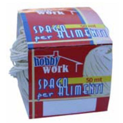 Spago Candido Resistente 50mt Ideale per Alimenti