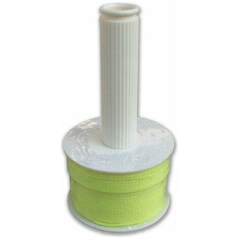 Spago Nylon Per Edilizia Giallo Mt 100