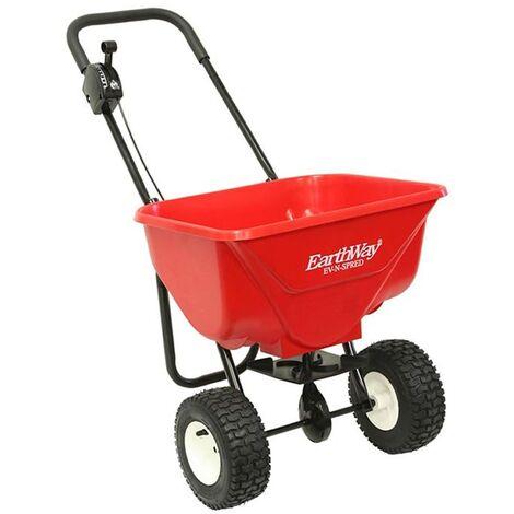 Spandiconcime professionale per giardino ew 2030 plus 30 kg ruote pneumatiche