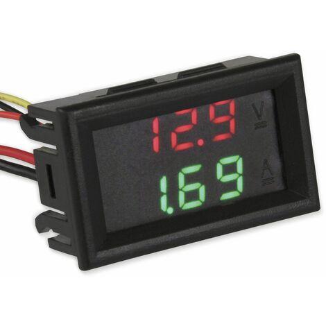 Spannungs- und Strommessgerät, Einbauinstrument, JOY-IT