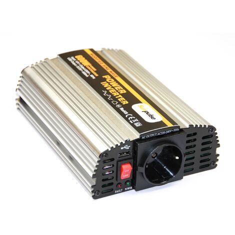 Spannungswandler MS 12V 600/1200 Watt