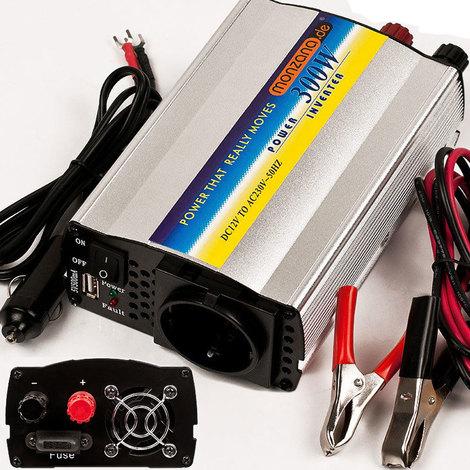 300~1500W Wechselrichter Spannungswandler Inverter USB 12V 230V Auto Ladegerät