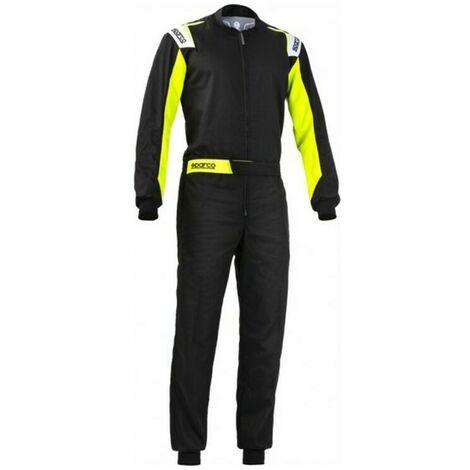 Sparco Mono Karting Sparco Rookie Amarillo Negro (Talla XL)