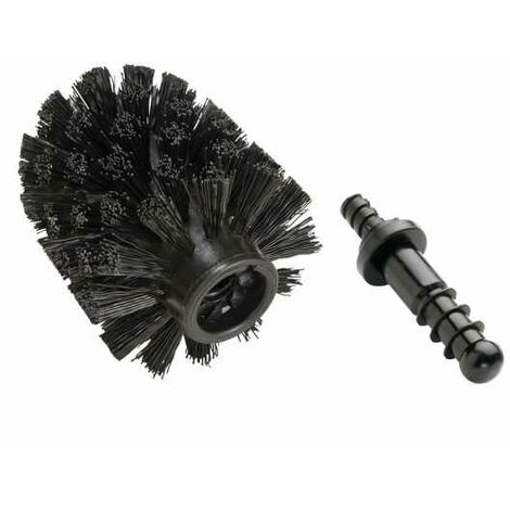 Spare brush head with adapter Black WENKO