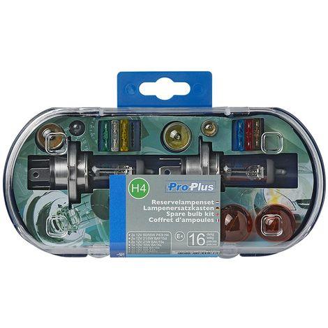 Spare bulb kit H4 16-pieces