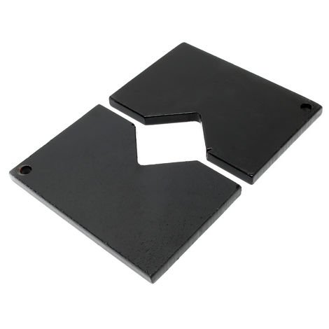 Spare Part 2pc. Supporting Plate Set for 12t Hydraulic Press