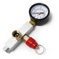 Spare Part: Airbrush Compressor Adapter Pressure Face AS196AW with Manometer
