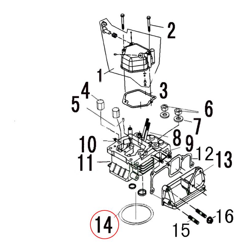 Straight 6 Cylinder Diesel Engine Diagram