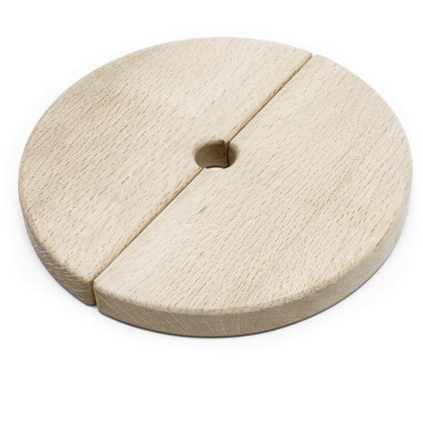 Spare part wood cover for 12-18l fruit/mash/cider press 2 pieces