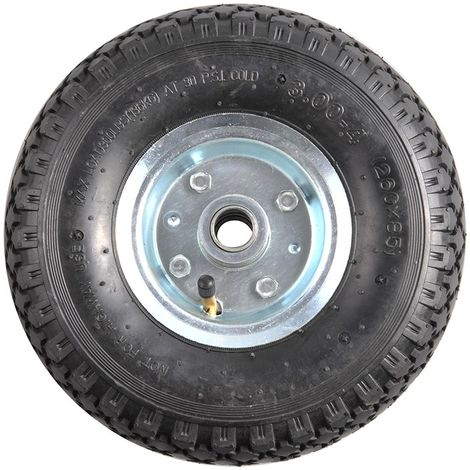 Spare wheel metal rim with air tyre 260x85mm