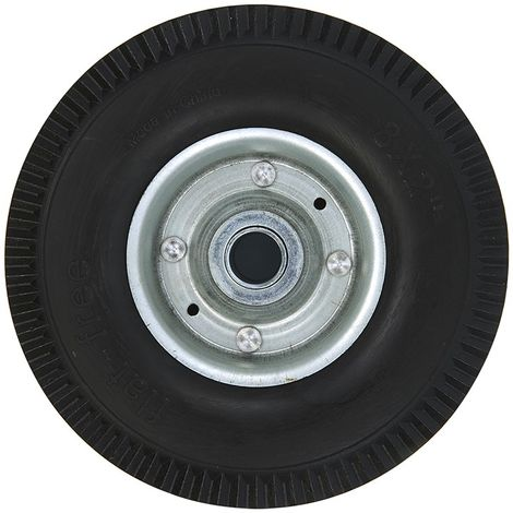 Spare wheel metal rim with PU tyre 200x50mm