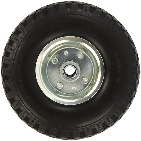 Spare wheel metal rim with PU tyre 260x85mm