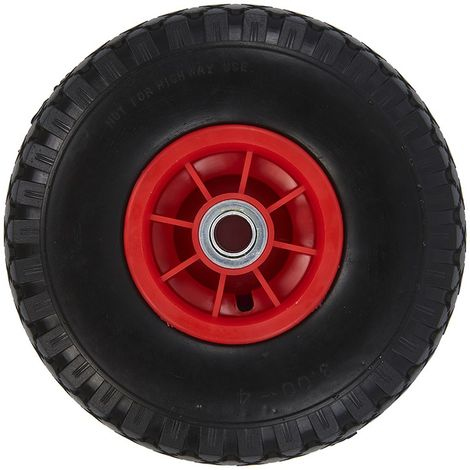 Spare wheel plastic rim with PU tyre 260x85mm