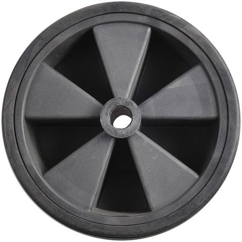 Spare wheel plastic rim with solid rubber tyre 220x70mm