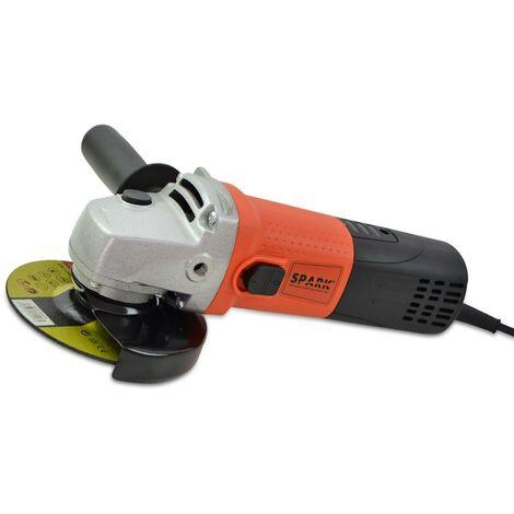 Spark - Amoladora Angular, 125 mm, 900 W, Velocidad Varible de 3.000 a 11.000 RPM, Radial Angular, Diámetro de 125 mm, eje M14