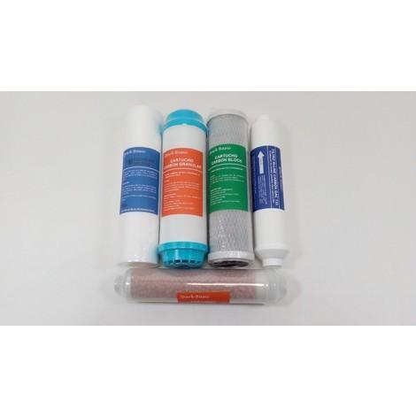 Spark Basic - Pack 5 filtros osmosis Bàsica 6 etapas