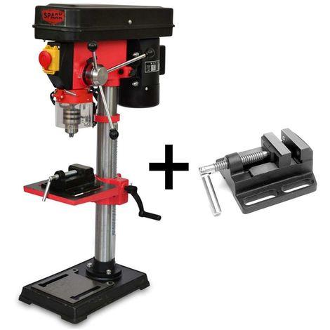 Spark - Bench Drill 550W, Pillar Drill 220V, Drill Press, 12 Speed Levels, Height 820mm, 220-2450 Rpm, Max Drilling Diameter 16mm