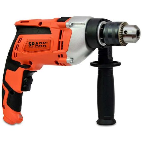 Spark - Impact Drill 850W, 230V, Includes Side Handle, Variable Speed