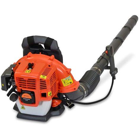Spark - Petrol Leaf Blower 42cc, Powerful 2 Stroke Air Cooled Engine, Safety Gear, Weight 8kg