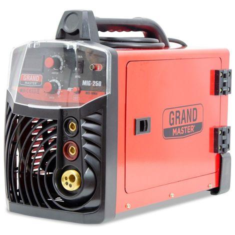 Spark - Welder MIG MAG MMA 200A / 220V DC, Digital Display, IGBT, Max Electrode Size 4.00mm, Portable Inverter Welding Machine, Arc Welder, Accessories Included