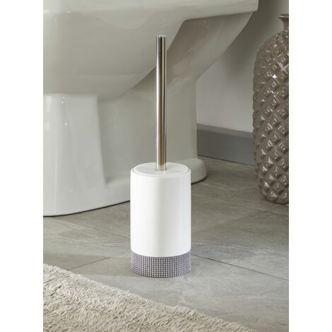 Sparkle Ceramic Bathroom Toilet Brush & Holder
