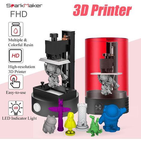 Sparkmaker imprimantes 3D FHD photopolym¨¦risable pour SLA de bureau avec support UV