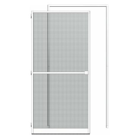 Sparset: Alu-Tür + Zarge 125x245, weiß