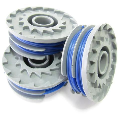 Spartacus Replacement SP126 Pack of 3 Strimmer Spools Fits Various Models
