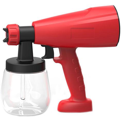 Spary electrica pistola, pulverizacion desinfectante, con 800 ml de contenedores desmontables, riego electrica pulverizador portatil de mano Agua seoor Botella de spray purificador de aire de atomizacion