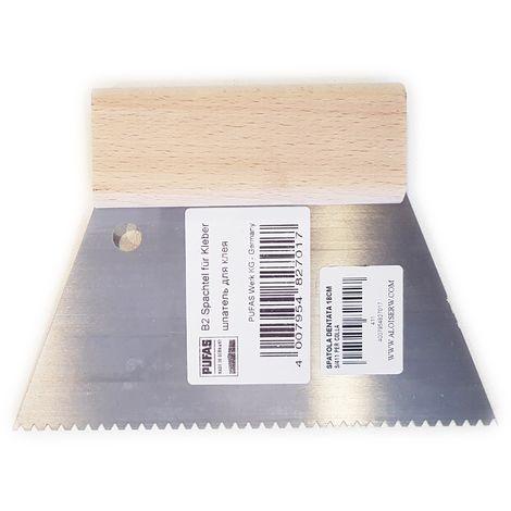 Spatola dentata art.s/411 da 18cm per colla