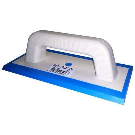 Spatola per fuga 115X245 mm gomma azzurra art. 136/12SG Raimondi