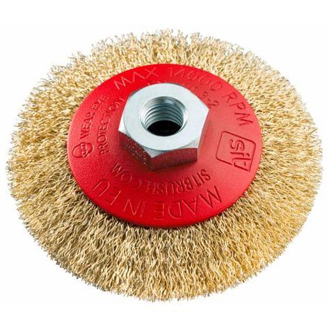 6044/ KWB abrasiva spazzola a disco /30 nylon