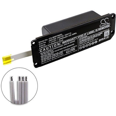 Speaker battery for Bose Soundlink Mini 2 7.4V 3400mAh