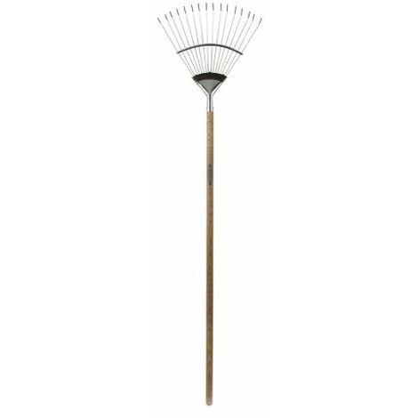 """main image of """"Spear & Jackson 4812FR - Rastrello per prato tradizionale, flessibile, in acciaio inox"""""""